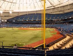 Tropicana Field Section 139 Seat Views Seatgeek