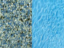 sapphire blue swimming pool color