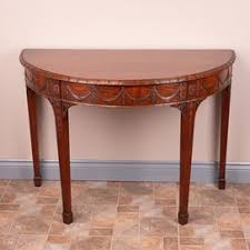 antique hall table. Carved Mahogany Demi Lune Console Table From Andros Antiques Antique Hall Table N