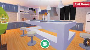 Adopt Me Kitchen Build Estate Re Upload Youtube
