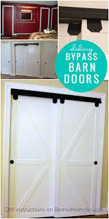 unique sliding closet barn doors office model is like diy double sliding bypass barn doors