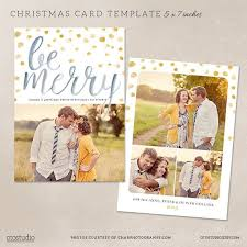 christmas card collage templates blog board collage template 16x20 20x20 set of 4 by otostudio card