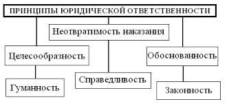 Курсовая работа Юридическая ответственность в России Понятие и Принципы юридической ответственности