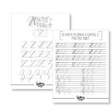 alphabet practice paper lettering practice sheets 20 ways to draw capital letters full