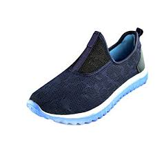 STEEMO Women's Blue and Sky Sports Shoes for Running/<b>Walking</b> ...