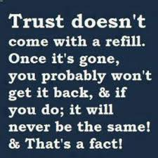 no trust | Quotes | Pinterest