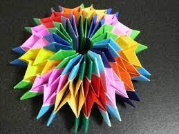 折り紙 万華鏡 12 枚