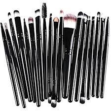 hername makeup brush set professional face eye shadow eyeliner foundation blush lip foundation makeup brushes powder