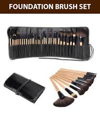 house of quirk 32pcs professional soft cosmetic makeup brush set pouch bag house of quirk 32pcs professional soft cosmetic makeup brush set pouch