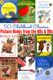 50 clic picture books from the 80s and 90s
