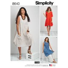 Plus Size Dress Patterns Stunning Pattern 48 Womens Plus Size Dress Or Tunic New Forest Fabrics