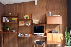our new danish teak wall unit mid