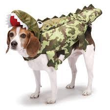Zack Zoey Camo Alligator Costume For Dogs Small