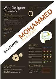 Creative Resume Designs Graphic Designers Gentileforda Com