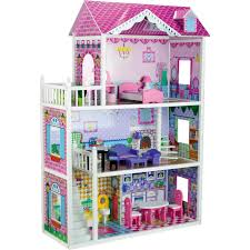 wooden barbie doll house furniture. Butternut Mansion Dolls House With Furniture Wooden Barbie Doll O