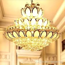 lighting puzzle lotus flower chandelier pendant light lamp tattoo meaning shade hanging