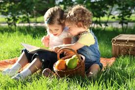 Image result for reading outdoors