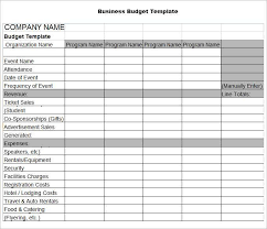 excel business budget template download free spreadsheet program elegant business budget template