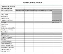 Download Free Spreadsheet Program Elegant Business Budget Template