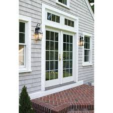 large image for amazing wall mount outdoor light exterior mounted fixtures gray wooden and brick wallgarage