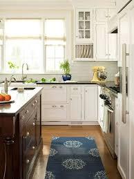 modern cottage kitchen design. Kitchen Cabinet Ideas Kitchens Cabinets And Modern Cottage White With Exposed Hinges Design C
