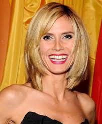 Boblijn Kapsels 2016 Knap Heidi Klum Hair She Looks Great