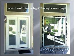 installing sliding doors french doors to replace sliders removing patio sliding door and installing french doors