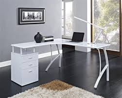 white home office desks. Home Office White Desk With Drawers, Glass Drawers : Best Organize A Desks