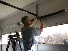How to Fix Broken Garage Door Spring - Rafael Home Biz