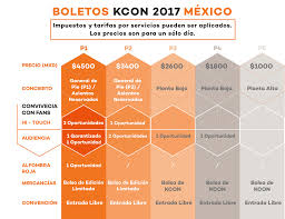 Kcon Seating Chart 2018 Kcon Mexico Official Site All Things Hallyu Kcon