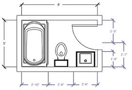 bathroom floor plans. Simple Floor Floor Plan  5u0027 X 8u0027 To Bathroom Plans N