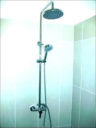 copper outdoor shower head plans ign trees rain antique mootstreet com