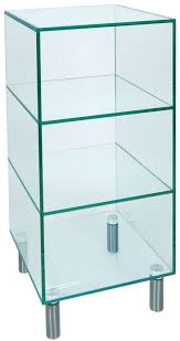 greenapple pure glass small shelf unit 59113wl