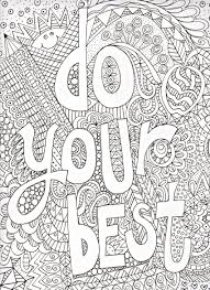 Inspirational Quotes Bible Free Printable Coloring Pages For Grown
