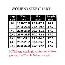 Walmart Womens Size Chart Lelinta Extra Firm High Waist Tummy Control Shapewear For Women Sexy Shaping Panties Brief Plus Size M 5xl