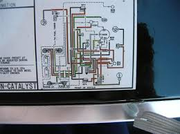1986 460 c i vacuum diagram ford truck enthusiasts forums 1992 Ford F150 Smog Pump Diagram this is off the radiator support of my 1985 460, but it is a california model, a real spaghetti factory Ford Vacuum Line Diagram