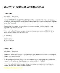 Immigration Letter Of Recommendation Sample Good Character Reference Letter Template Free Picture Medium A For