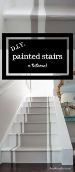 painted basement stairs. Stylish Charming Painted Basement Stair Ideas And Gray Runner Rug Plus  White Wall Stairs