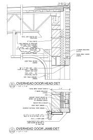 architectural details architekwiki inspiration of overhead door section