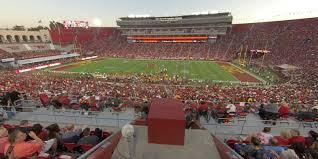 La Coliseum Seating Chart Soccer Los Angeles Memorial Coliseum Section 220b Rateyourseats Com