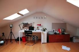 feng shui home office attic. the attic office of a photographer feng shui home
