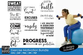 Svgdesigns.com also has a large collection of free svg designs. Exercise Motivation Fitness Svg And Cut Files For Crafter 80829 Cut Files Design Bundles