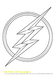 The Flash Coloring Page 2750899
