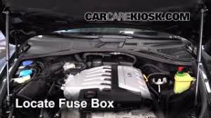 interior fuse box location 2004 2010 volkswagen touareg 2004 blown fuse check 2004 2010 volkswagen touareg