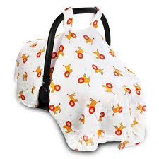 babycaremag muslin car seat cover