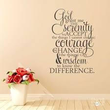 image is loading serenity prayer wall decal quote bible verse word  on serenity prayer wall art uk with serenity prayer wall decal quote bible verse word art ebay