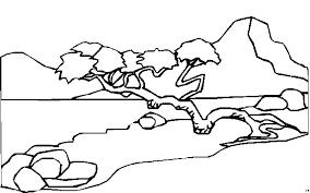 Landschappen Kleurplaten Animaatjesnl