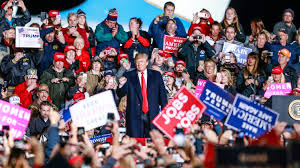 Donald Trump campaigns for Scott Walker and Leah Vukmir in Wisconsin