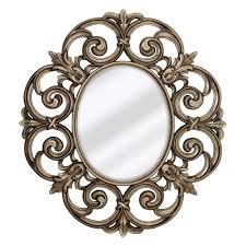 majestic traditional decorative wall mirror