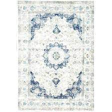 blue white area rug red yellow and n